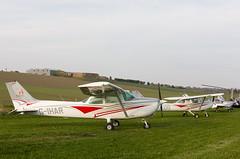 G-IHAR Cessna 172 , Kirriemuir (wwshack) Tags: acsflighttraining angus ce152 cessna cessna152 kirriemuir scotland farmstrip gihar