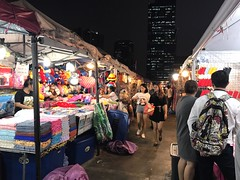 night market (ChalidaTour) Tags: thailand thai asia asian market night people boost seight guide tour famous fun happy stroll purchase bargain