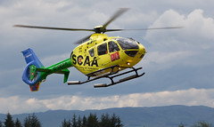 G-SCAA  EC135, Scone (wwshack) Tags: airbushelicopters ec135 egpt eurocopter psl perth perthkinross perthairport perthshire scaa scone sconeairport scotland scotlandscharityairambulance helicopter gscaa