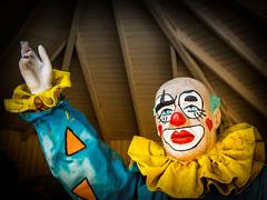 Clown, (fritz polesny) Tags: panasonicg81 böhmischer prater wien vienna farben colour statue