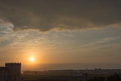 Amanecer en Valencia 03 (dorieo21) Tags: sunrise amanecer sun sol nube cloud nuage soleil nikon cielo ciel sky