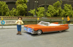 The Synthetic Texan (Stig Baumeyer) Tags: modellbil modellauto modelcar diorama h0skala h0scale h0 scalah0 scala187 187 echelleh0 echelle187 busch buschh0 busch187 cadillac 1959cadillac gm generalmotors