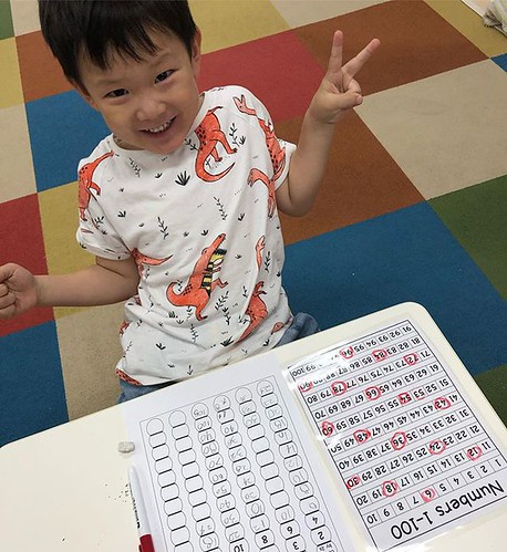 There's nothing better than seeing children overcome obstacles and feel PROUD of themselves. #tokyo #kindergarten #preschool #daycare #math #goals #proud #achievement