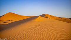 Structures in the sand during sunrise (patuffel) Tags: leica blue shadow sky orange sahara sunrise sand dunes 28mm structures structure summicron morocco marokko m10 erg merzouga chebbi