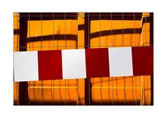 51 [titre fenced fence] (Armin Fuchs) Tags: arminfuchs lavillelaplusdangereuse würzburg fence hff anonymousvisitor thomaslistl wolfiwolf jazzinbaggies red yellow light shadows challenge 35mm