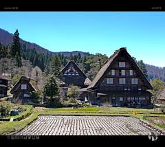 Shirakawa-go XVI (tomraven) Tags: alpine alps japan japanese tomraveninjapan shirakawago tomraven aravenimage house architecture rice paddy spring q22019 lumix lx100
