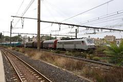 SNCF 26077-4 Mercitalia Stahlzug, Montpellier Saint Roch (michaelgoll777) Tags: sncf bb26000 sybiv akiem