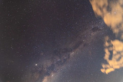Milky Way in the early evening (Merrillie) Tags: night moonlight milkyway starry astrophotography australia moon nighttime newsouthwales lunar pearlbeach astrology starlight beach moonphases galacticcore moonrise centralcoast coastal northpearlbeach nightsky seascape nightscape starlit stars galaxy