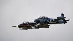 Strikemaster (Bernie Condon) Tags: dunsfold wingswheels airshow surrey uk aviation aircraft flying display hunting bae bac strikemaster attack bomber trainer military