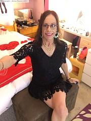 June 2019 (Girly Emily) Tags: crossdresser cd tv tvchix trans transvestite transsexual tgirl tgirls convincing feminine girly cute pretty sexy transgender boytogirl mtf maletofemale xdresser gurl glasses dress hull hosiery tights hose smile lace bedroom