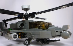 AH-64 Apache (2) (Lonnie.96) Tags: lego brick 2019 june 21 victoria australia build moc custom grey black window apache ah64 ah 64 united states army helicopter attack assault usaf armed forces model pilots missile flir radar modern military defence force