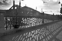 Happy Fence Friday (HFF), Budapest, Hungary. (Manoo Mistry) Tags: budapest hungary europe nikon nikond5500 tamron tamron18270mmzoomlens shadows happyfencefriday hff railing balustrading fence monochrome