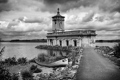 Normanton Church (Romeo Mike Charlie) Tags: rutland rutlandwater reservoir lake church museum building mono architecture