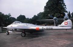 Vampire FB6 (Pentakrom) Tags: vampire j1008 swiss air force mosquito de havilland aircraft museum