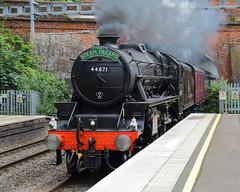 Midsummer Steam (Treflyn) Tags: midsummer summer stanier black 5 460 44871 twyford station london paddington bristol steam dreams excursion