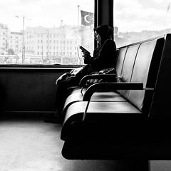 Istanbul (ale neri) Tags: street bw aleneri turkish girl people istanbul turkey streetphotography blackandwhite alessandroneri batis225