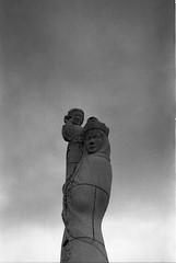 Outer Hebrides (Arw7C) Tags: ilford blackandwhite 35mm olympus om1 scotland highlands hiking filmisnotdead istillshootfilm hp5 iso400