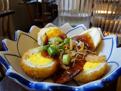 Tamarind crispy eggs at Kin + Deum, London Bridge, London SE1 (Kake .) Tags: london se1