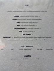 Menu (June 2019) at the Horseshoe, London Bridge, London SE1 (Kake .) Tags: london se1 menu pubmenu