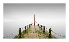 Groin (GlennDriver) Tags: fineart long exposure sussex water sea coast symmetry canon nd minimal conceptual abstract grpne england uk black white subtle