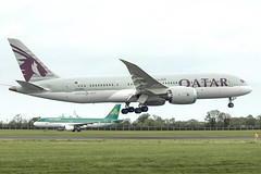 A7-BCQ | Qatar Airways | Boeing B787-8 Dreamliner | CN 38335 | Built 2014 | DUB/EIDW 22/05/2019 (Mick Planespotter) Tags: aircraft airport 2019 dublinairport collinstown nik sharpenerpro3 b787 b788 a7bcq qatar airways boeing b7878 dreamliner 38335 2014 dub eidw 22052019 flight plane airplane