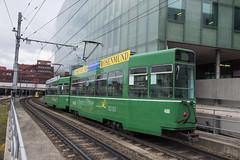 486 (200er Serie) Tags: bvb basler verkehrsbetriebe grün cornichon schindler waggon pratteln drämmli tram schienenfahrzeug meterspur