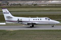 N501AF Cessna 501 Citation (johnedmond) Tags: perth ypjt westernaustralia jandakot jad canon ef100400mmf4556lisiiusm eos7d cessna c501 citation bizjet australia aviation aircraft aeroplane airplane plane jet