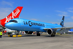 La Compagnie Airbus A321-251NX F-HBUZ (Manuel Negrerie) Tags: airbus a321251nx fhbuz lacompagnie a321lr a321xlr neo avgeeks jetliner airliner aviation jet leap1a spotting travel narrowbody