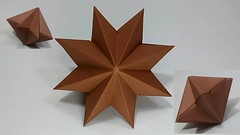 Easy Origami Paper Star for Christmas Decoration | DIY Christmas Decorations Star (sanjidakhatun885) Tags: easy origami paper star for christmas decoration | diy decorations