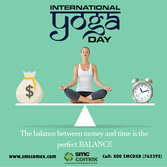 Happy International Yoga's Day - SMC Comex Dubai (smccomex) Tags: