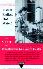 Ascot Gas Water Heater. Instant Endless Hot Water! (growlerthecat) Tags: gasappliances gaswaterheaters waterheating hotwater ascot radiation