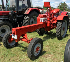 East german tractor (Schwanzus_Longus) Tags: oyten german germany east ddr gdr old classic vintage tractor farm farming vehicle machine tws fortschritt rs09