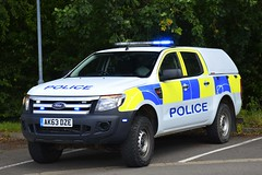 AK63 DZE (S11 AUN) Tags: cambridgeshire cambs constabulary ford ranger 4x4 rural policing team incident response farm patrol traffic car rpu roads unit 999 emergency vehicle ak63dze
