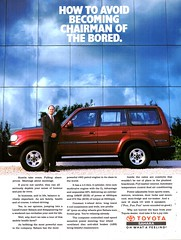 1993 Toyota Land Cruiser Sahara 4WD Wagon Aussie Original Magazine Advertisement (Darren Marlow) Tags: 1 3 9 19 93 1993 t toyota l land c cruiser s sahara w d 4wd wagon car cool collectible collectors classic a automobile v vehicle j jap japan japanese asian asia 90s