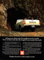 1984 Isuzu PUP Pickup Truck USA Original Magazine Advertisement (Darren Marlow) Tags: 1 4 8 9 19 84 1984 i isuzu p u pup pickup truck t c car cool collectible collectors classic a automobile v vehicle j jap japan japanese asian asia 80s