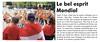 2019 Franse Krant L'Hebdo du Vendredri Reims 5841