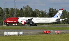 Norwegian SE-RXM,  OSL ENGM Gardermoen (Inger Bjørndal Foss) Tags: serxm norwegian boeing 787 dreamliner osl engm gardermoen