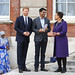 Award winner Nitesh K. Jangir of India receives his prize from the Duke of Sussex and the Commonwealth Secretary-General