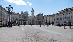 Turin: Piazza San Carlo (John of Witney) Tags: square piazza piazzasancarlo turin torino italy italia lacittàmetropolitanaditorinovistadavoi