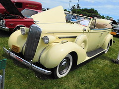 1936 Buick 80-C Roadmaster Phaeton (splattergraphics) Tags: 1936 buick roadmaster phaeton carshow aacamuseum hersheypa