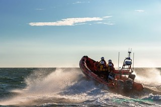 Porthcawl RNLI training exercise. Images: Tony John