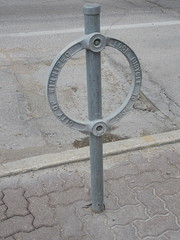 Bike Rack (TheTransitCamera) Tags: bike bicycle rack street furniture winnipeg mb manitoba downtown