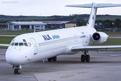 ALK Airliners, McDonnell Douglas MD-82, LZ-DEO. (M. Leith Photography) Tags: mcdonnell douglas jet md82 alk airlines aberdeenairport abz dyce dyceairport aberdeendyce aberdeen scotland airport flying airliner lzdeo egpd mark markleithphotography leith nikon d7200 70200vrii nikkor cockpit