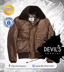 Devilson-New-Collection-of-bomber-jackets (devilsondotcom) Tags: leather jackets motorcycle menswear flight bomber leatherwears mensfashion bikercollection