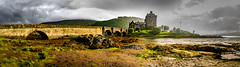 Eilean Donan Castle - Dornie - Scotland (Benjamin RP) Tags: eilean donan castle scotland dornie west kyle lochalsh loch duich western highlands donnain lochduich lochlongandlochalsh picturesque kintail national scenic area thirteenth century bridge water lakes lake landscape architecture stronghold