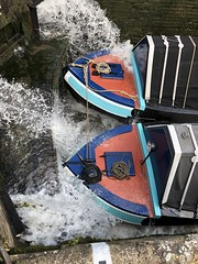 Locking up (alanb246) Tags: canal lock national butty paddles nebulae adrastea smallwoolwich pairboating buckleboats lockingup forend motorboat harlandandwolf nationaldm2