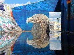 Dok Noord, grindbakken (Ivan Deboom) Tags: graffiti streetart gent doknoord oudedokken ceepil