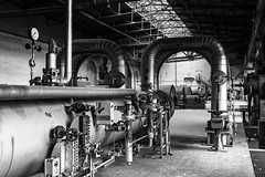 KV9A7736-HDR-1_DxO_Nik (wernkro) Tags: kraftwerk heizkraftwerk germany krokor hdr sw blackwhite tube rohre lostplace