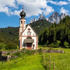 Die Kapelle St. Johann in Ranui (jürgenmilnik) Tags: italien dolomiten sütdtirol italia dolomiti alto adige villnöstal val di funes