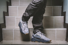 Adidas Yeezy 700 Tephra. (Andy @ Pang Ket Vui ( shootx2 )) Tags: yeezy sneakers 700 tephra chuncky dad daddy shoes fashion hype beast adidas kanye west kicks sneaker photography d800 2470 flash bulky